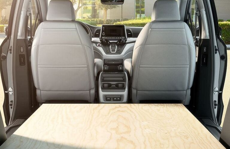 Versatile cargo space in the 2018 Honda ODyssey