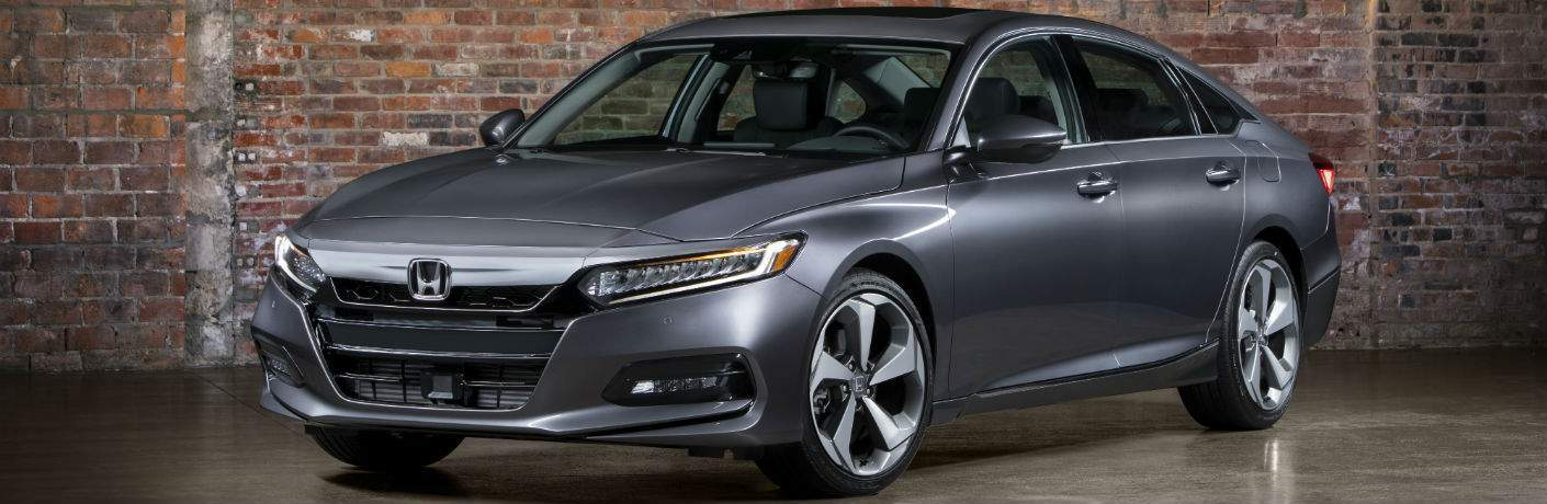 2018 Honda Accord Rockwall TX Side view in gray