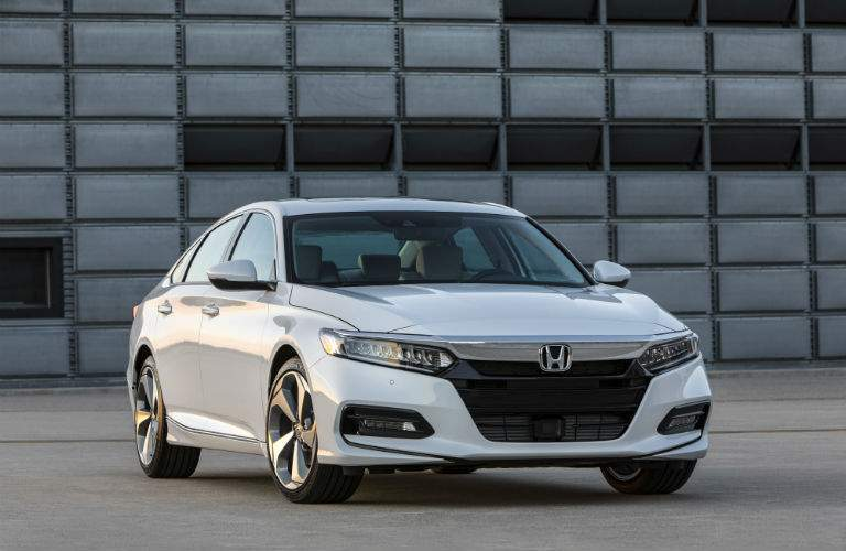 2018 Honda Accord in white front view