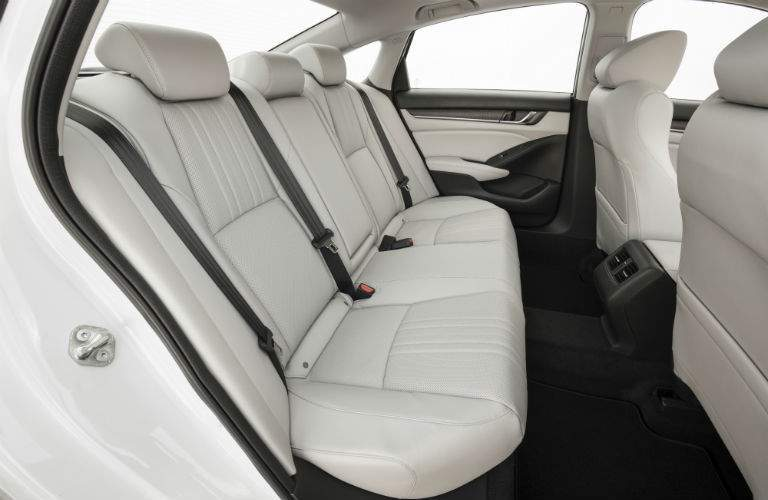 Back seat passengers will have more legroom in the 2018 Accord