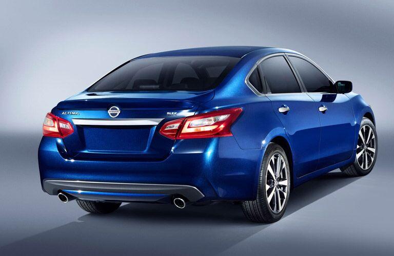 2016 Nissan Altima exterior rear blue