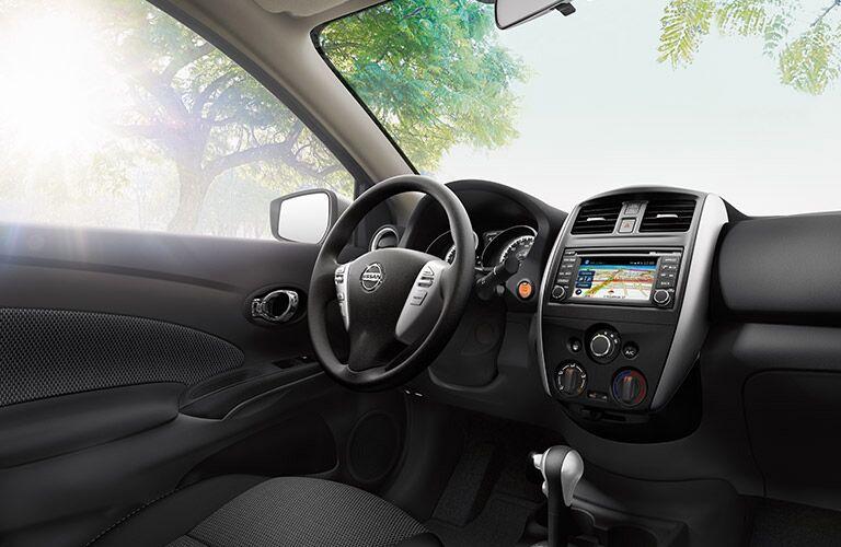 2016 Nissan Versa interior front driver's seat