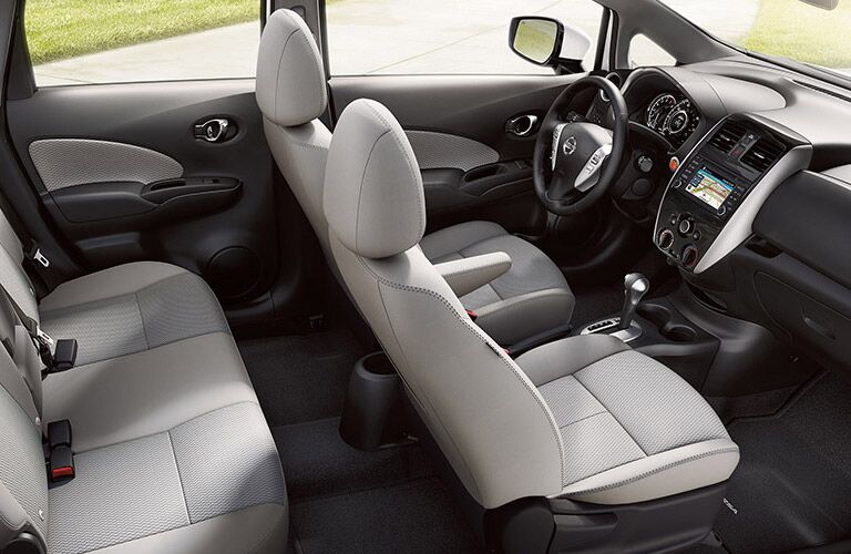 2016 Nissan Versa Note interior seating
