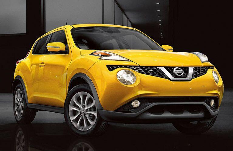 yellow 2017 Nissan Juke exterior front