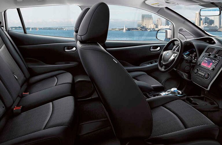2017 Nissan Leaf interior seats