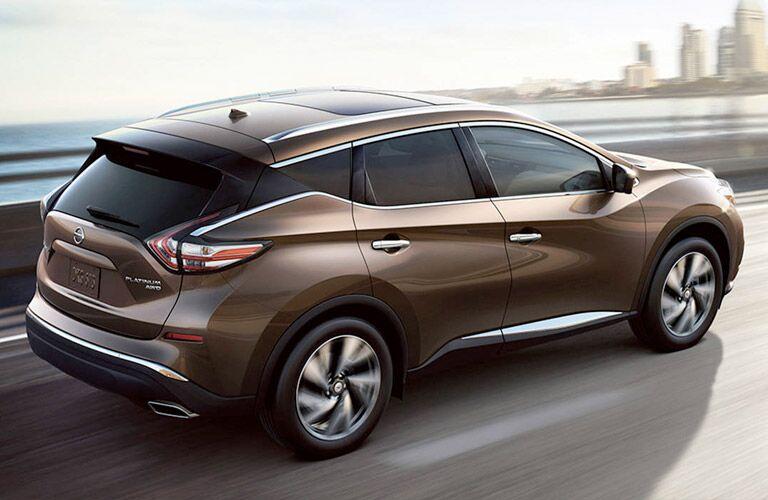 2017 Nissan Murano driving toward city