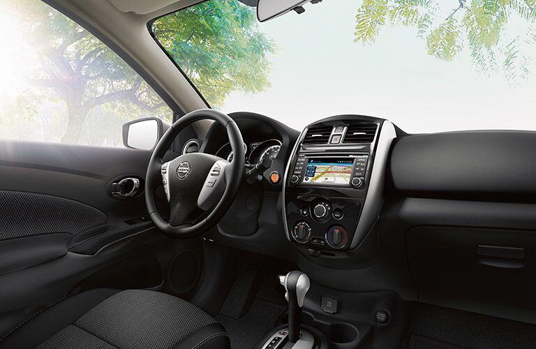 2017 Nissan Versa interior front