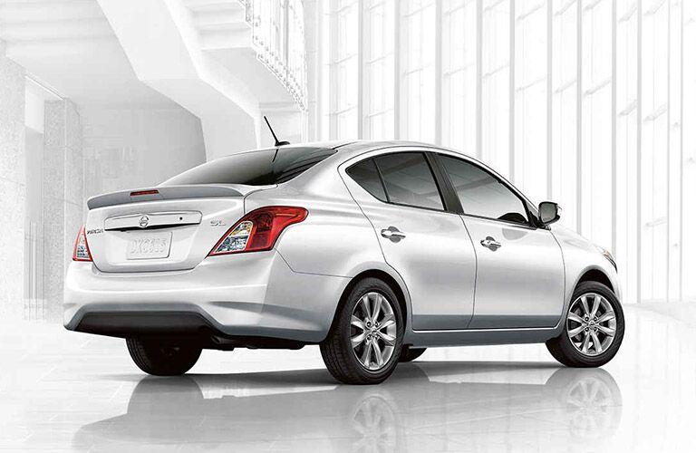 2017 Nissan Versa exterior rear