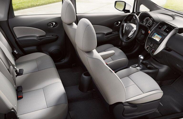 2017 Nissan Versa Note interior seating