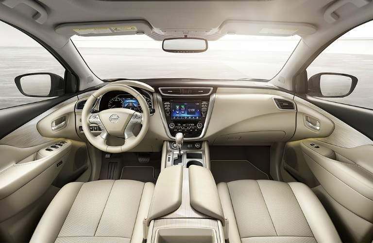 2018 Nissan Murano front seats