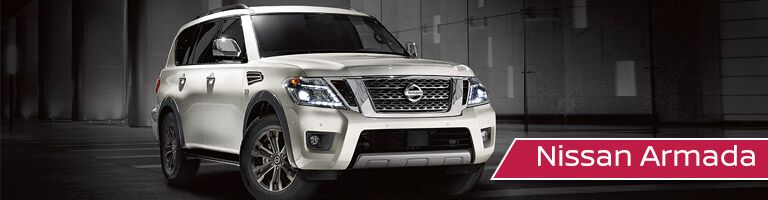 white 2017 Nissan Armada exterior front