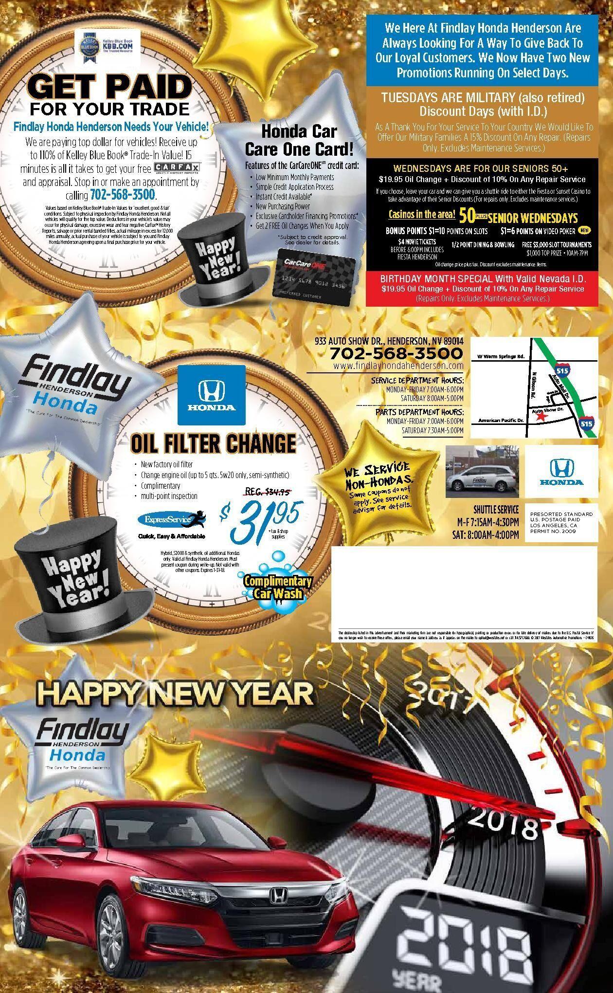 Findlay Honda Henderson New Year