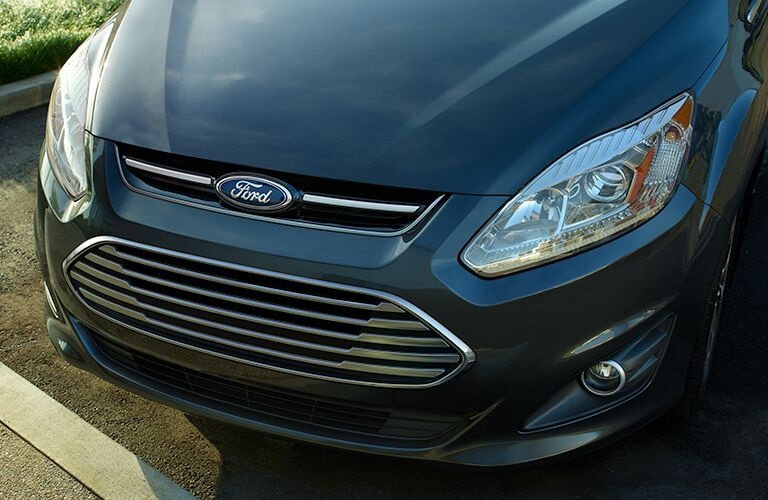 2018 Ford C-Max Hybrid exterior close up of front fascia