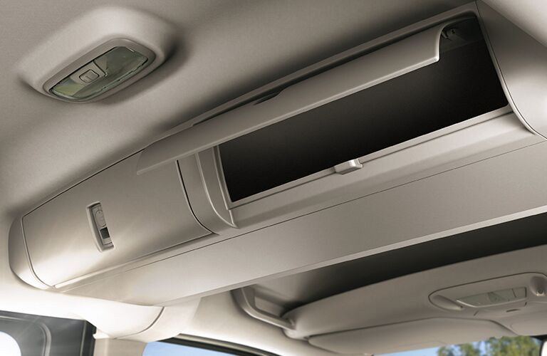 2018 Ford Transit Connect interior ceiling storage space