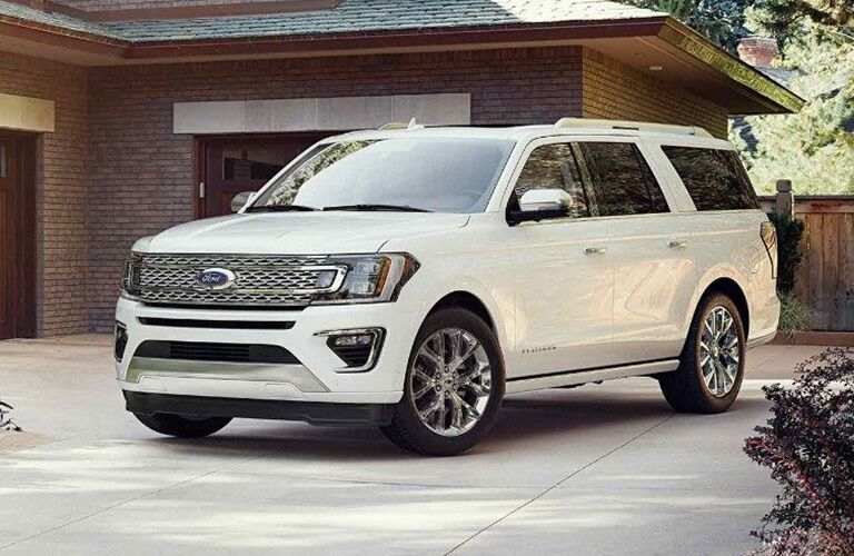2018 Ford Expedition parked in a driveway