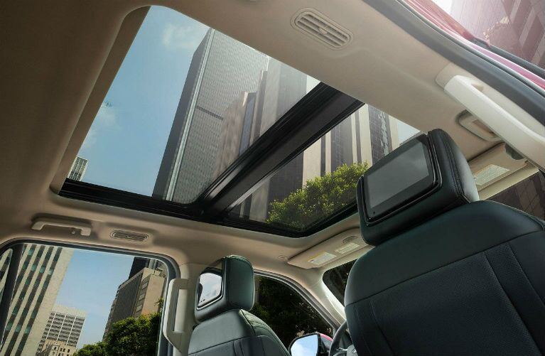 2018 Ford Expedition with available Panoramic Vista Roof