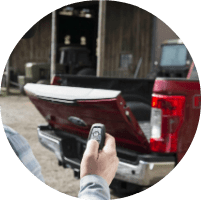 2018 Ford Super Duty with Remote Power Tailgate