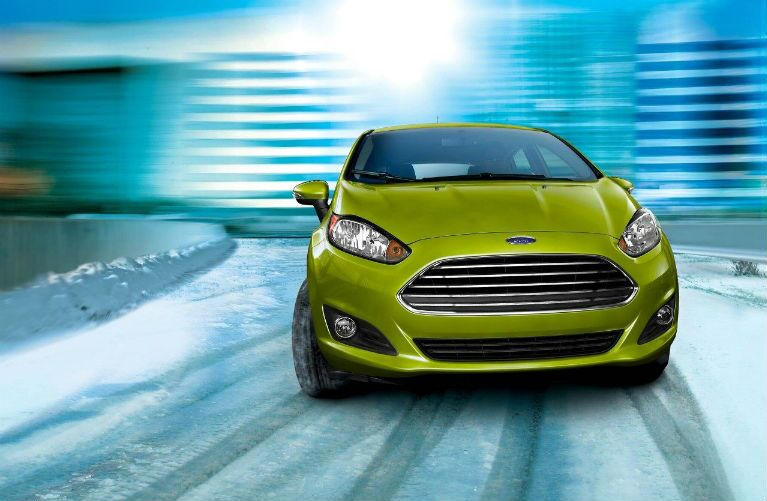 2018 Ford Fiesta with AdvanceTrac Electronic Stability Control