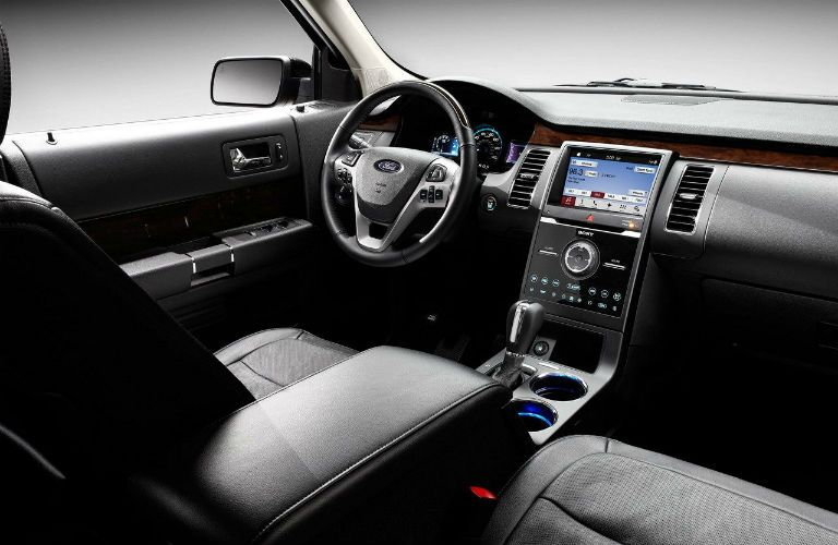 2018 Ford Flex driver-oriented front interior