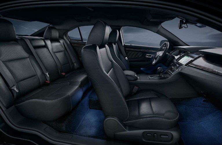 2018 Ford Taurus full interior view of seating