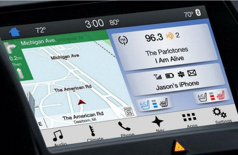 2018 Ford Taurus SYNC 3 navigation system
