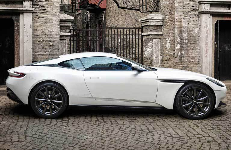 DB11 Side View