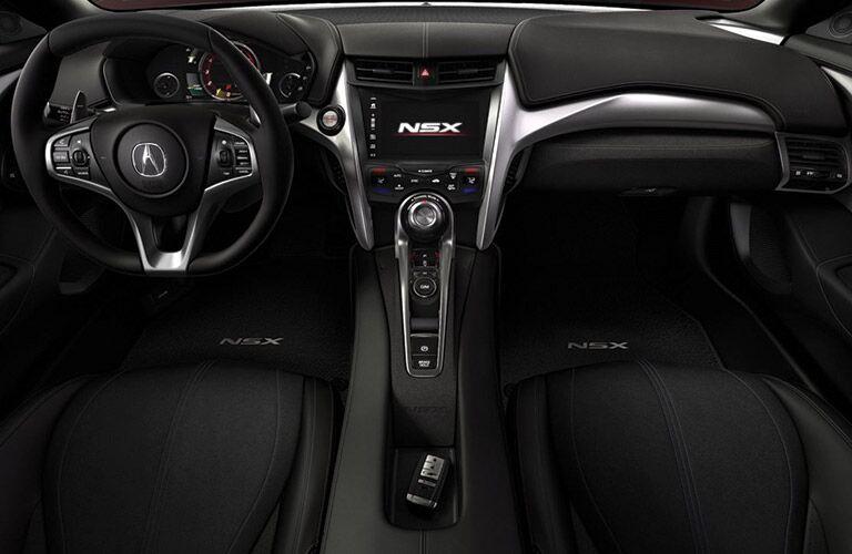 Acura NXS dashboard