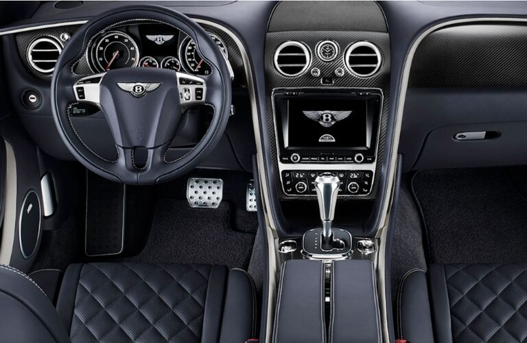 cockpit of bentley
