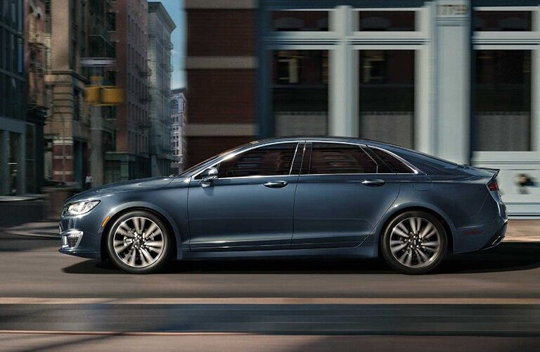 2018 Lincoln MKZ exterior driver side view