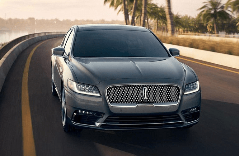 2018 Lincoln Continental on highway