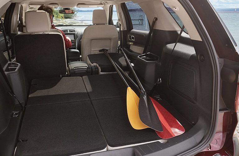 2019 ford explorer cargo capacity