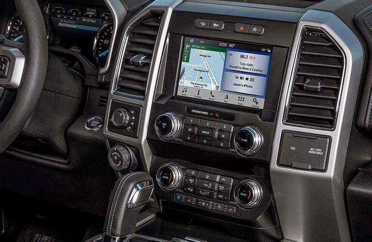 2020 Ford F-150 center console