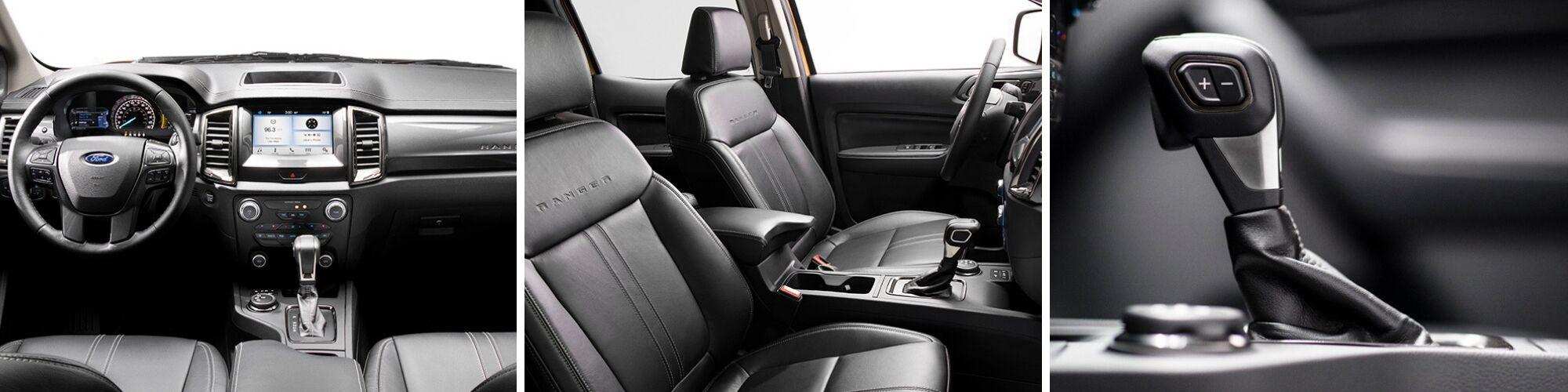 2019 ford ranger interior view