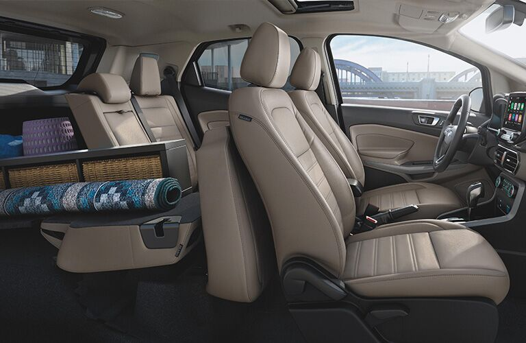 Interior view of 2020 Ford EcoSport