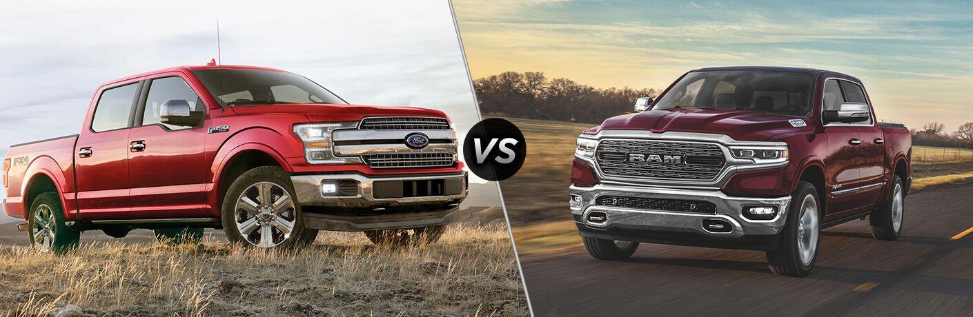 2020 Ford F-150 vs 2020 RAM 1500