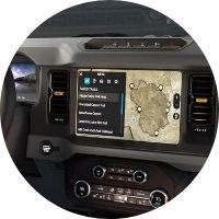 2021 Ford Bronco touchscreen technology