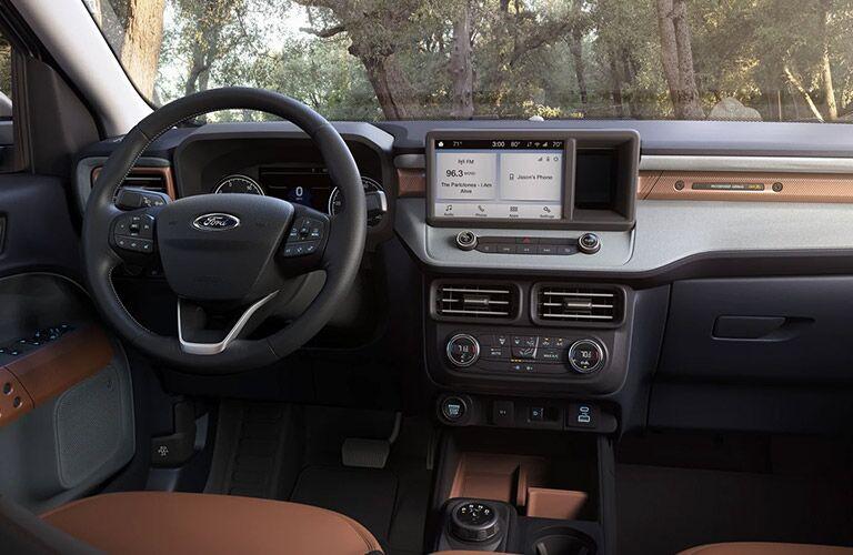 2022 Ford Maverick dashboard