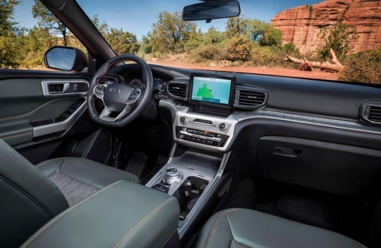 2022 Ford Explorer interior view