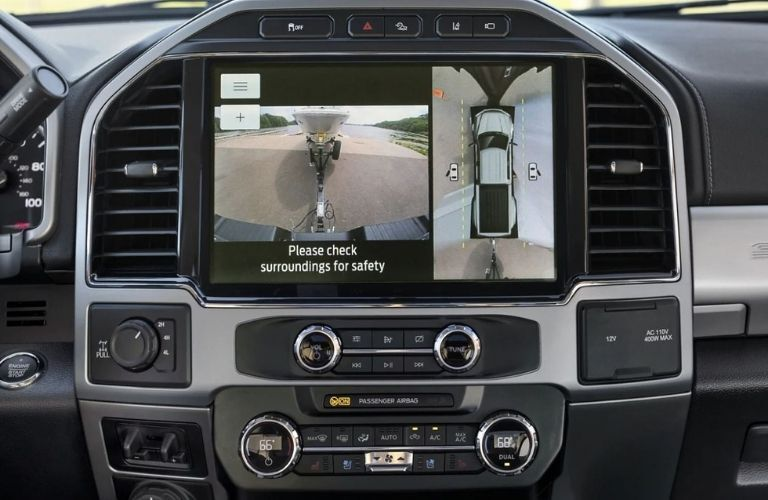 2022 Ford Super Duty Infotainment System Display