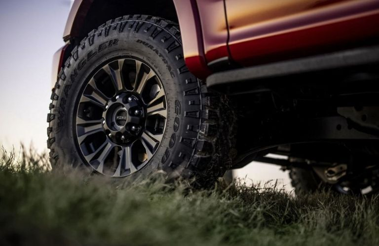 2022 Ford Super Duty Traction Tyres