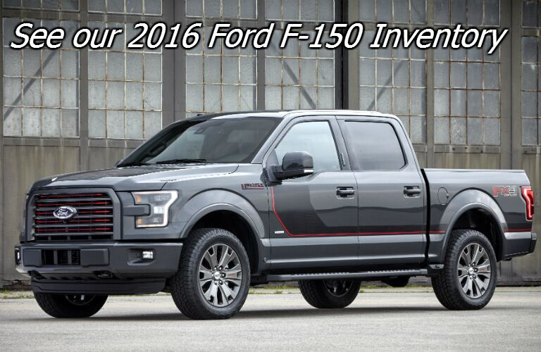 Ford F-150 XLT and Lariat trims available in fond du lac