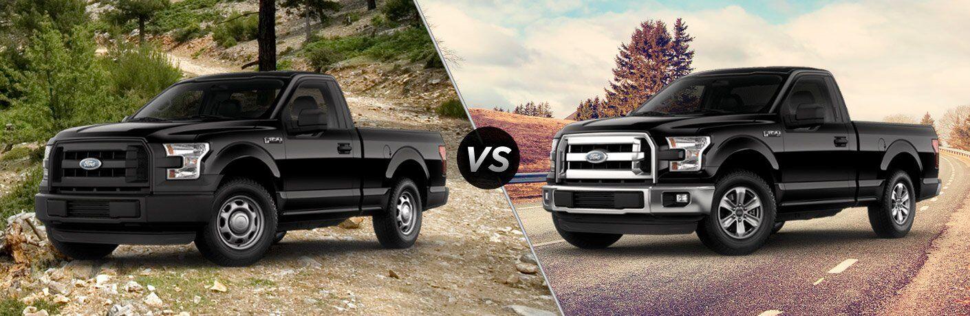 2017 Ford F-150 XL vs XLT