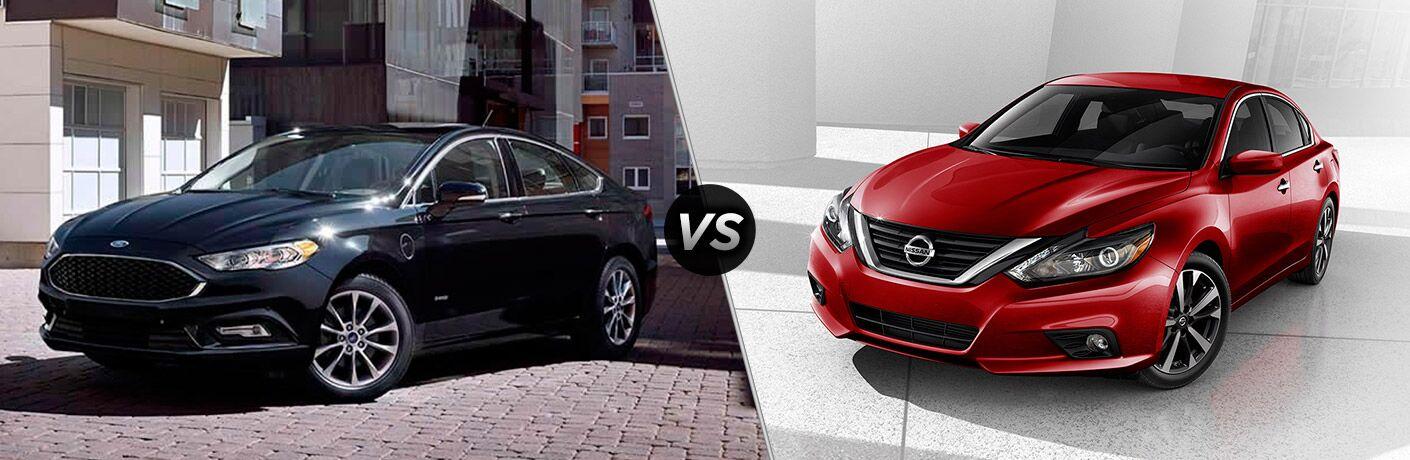 2017 Ford Fusion vs 2016 Nissan Altima