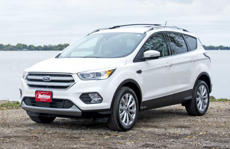 2017 Ford Escape white side view