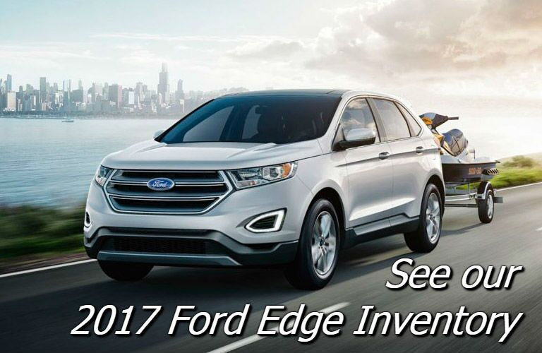 new ford 2017 ford edge at holiday ford in fond du lac