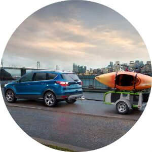 how much can you tow in the 2017 ford escape?