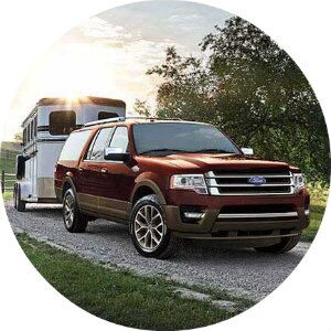 how much cargo space does the ford expedition have?