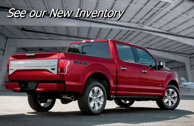 new 2017 ford f-150 inventory in fond du lac wi