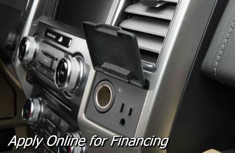 apply for financing for the f-150 at holiday ford in fond du lac wi