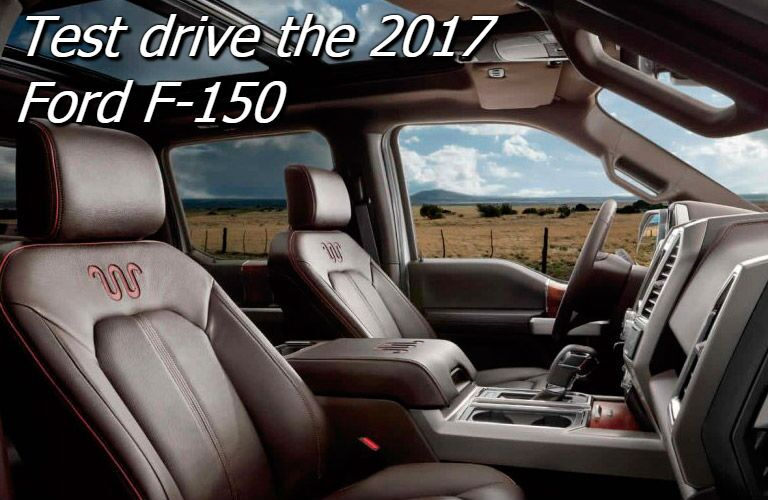 where can i test drive the 2017 ford f-150 near oshkosh